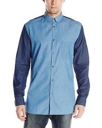 Zanerobe Denim Long Sleeve Shirt