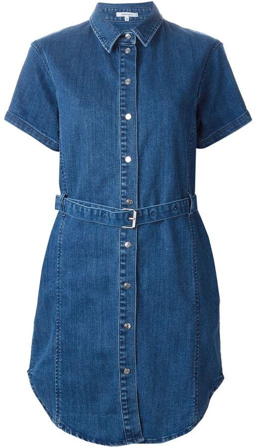 faea24cc22 ... Carven Denim Shirt Dress