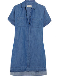 Denim shirt dress blue medium 3700730