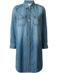 Current/Elliott Miner Denim Shirt Dress