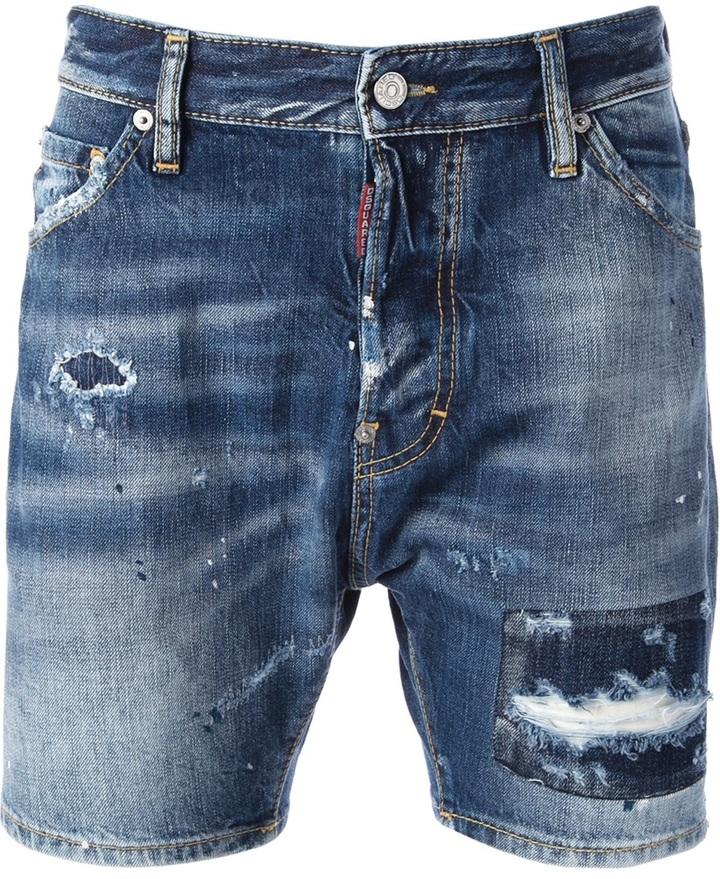 DENIM - Denim shorts Dsquared2 High Quality Sale Online Cheap Sale Countdown Package Su4BdKjM