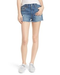 Levi's 501 High Waist Cutoff Denim Shorts