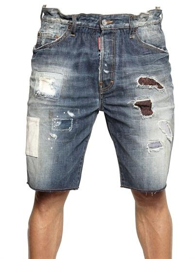 Onwijs DSquared Big Deans Bro Mississippi Denim Shorts, $675 NE-86