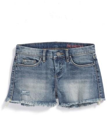 Blank NYC Blanknyc Flavor Savor Cutoff Denim Shorts