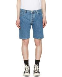 Kenzo Blue Denim Shorts