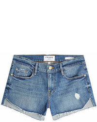 Frame Denim Le Cutoff Tulip Denim Shorts