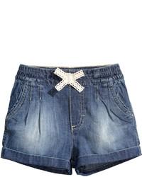H&M Denim Shorts Denim Blue Kids
