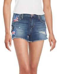 Joe's Jeans Distressed Cut Off Denim Shorts