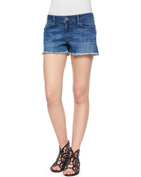 DL1961 Dl 1961 Premium Denim Lola Frayed Denim Cutoff Shorts