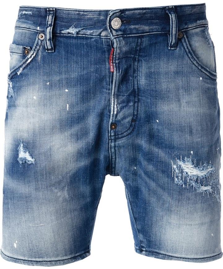 Spiksplinternieuw DSquared 2 Distressed Denim Shorts, $415 | farfetch.com IQ-38