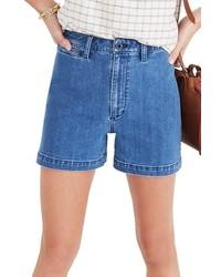 Madewell Emmett High Waist Denim Shorts