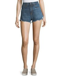 Rag & Bone Jean Lou High Waist Cutoff Denim Shorts