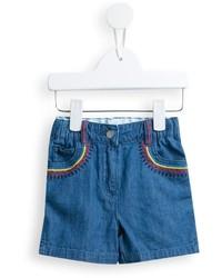 Stella McCartney Kids Hula Denim Shorts