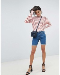 Vero Moda Long Denim Shorts
