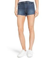 Paige Margot High Waist Cutoff Denim Shorts
