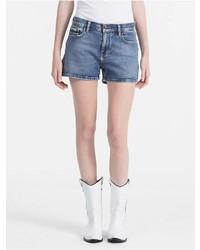 Calvin Klein Mid Blue Denim Shorts