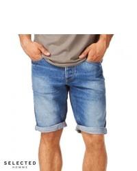 Selected Cash 920 Denim Shorts Denim