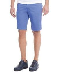 Stefano Ricci Slim Fit Denim Shorts