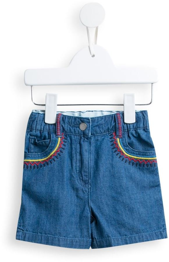 Stella McCartney Kids Hula Denim Shorts