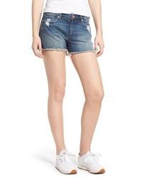 BLANKNYC The Essex Distressed Denim Shorts
