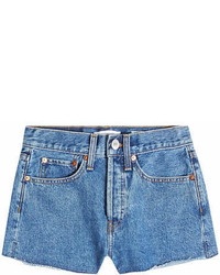 RE/DONE The Short Denim Cut Offs