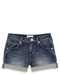 Hudson Toddlers Little Girls French Terry Denim Shorts