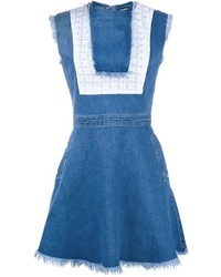 House of Holland Sleeveless Denim Dress