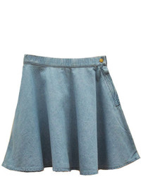 Chicnova denim mini skater skirt medium 136280