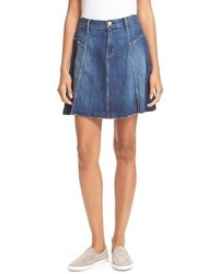 The skater denim skirt medium 517234