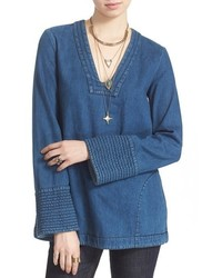 Blue Denim Tunic