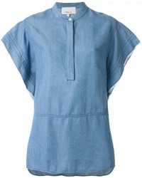 Boxy denim tunic medium 421076