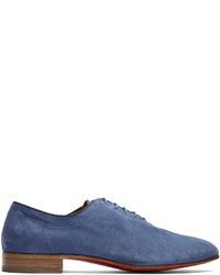Christian Louboutin Alfred Soft Suede Derby Shoes