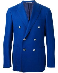 Canali Pique Cross Double Breased Blazerer