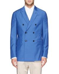Façonnable Faonnable Wool Mohair Silk Blazer