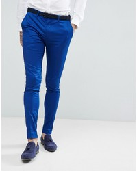 Devils Advocate Devils Advocate Super Skinny Fit Plain Suit Trousers