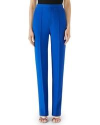 Gucci Pintuck Marocain Trousers
