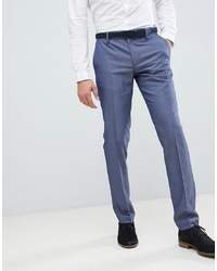 United Colors of Benetton Slim Fit Suit Trousers In Blue