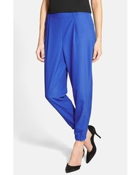 Trouv Elastic Cuff Pleated Pants