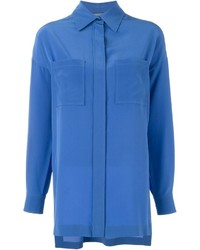 Alberta ferretti loose fit shirt medium 457558