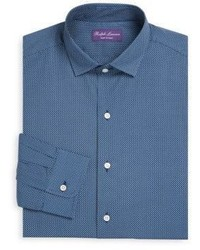 Ralph Lauren Purple Label Amalfi Regular Fit Cotton Dress Shirt