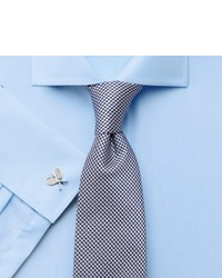 Charles Tyrwhitt Easy Iron Sky Poplin Spread Slim Fit Shirt