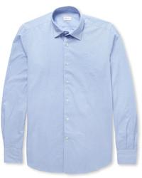 Incotex Glanshirt Slim Fit Cotton Oxford Shirt