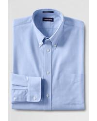 Lands' End Landsend Big Long Sleeve Buttondown Oxford Shirt Rich Redxl