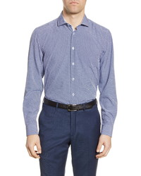 Report Collection Modern Fit Stretch Diamond Dress Shirt