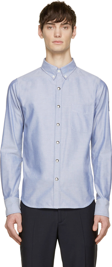 blue moncler shirt