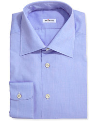 Poplin dress shirt blue medium 176891