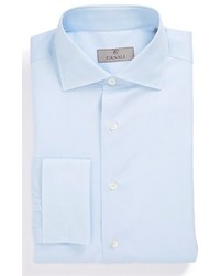 Canali Regular Fit French Cuff Dobby Dress Shirt