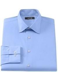 Apt. 9 Slim Fit Dobby Spread Collar Dress Shirt