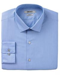 DKNY Slim Fit Pinstripe Dress Shirt