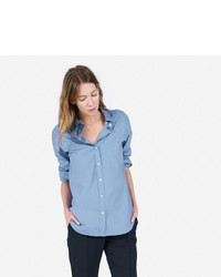 The relaxed poplin shirt medium 457497